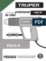 Manual Pistola Calor Truper Pisca16432