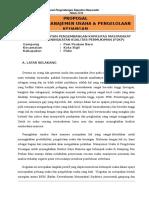 Proposal Manajemen Usaha PPB