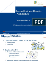 INC 2010 _ Conceptual Trusted Incident-Reaction Architecture