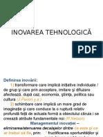 Inovarea Tehnologică