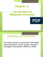 Chapter 1 Introduction to Malaysian Economy (1)