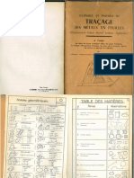 Techniques Et Pratiques Du Tracage Des Métaux en Feuilles (1968)