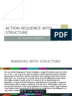 action sequence with structure