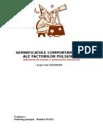 Semnificatiile Comportamentale Ale Factorilor Pulsionali