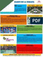 Actividades 30 Mayo-5 Junio