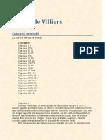 Gerard de Villiers-Capcana Mortala