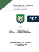 rancangan laporan
