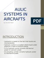 Hydraulic Systems in Aircrafts