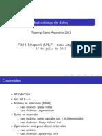 Estructuras de Datos - Fidel
