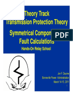 Symmetrical Componet Fauly calculation