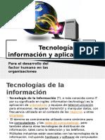 Tecnologías de La Informacion y Aplicaciones