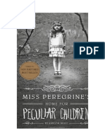 Ms. Peregrine Cover