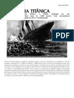 Historia Do Titanic