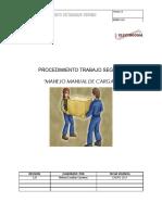 Procedimiento Manejo Manual de Cargas