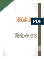 Diseño de Levas- Mecanismos