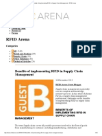 Benefits of Implementing RFID in Supply Chain Management - RFID Arena