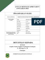 Proposal Bantuan Bop Paud Apbd Tahun Anggaran 2015