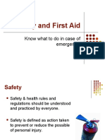 safety and first aid 2