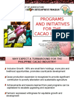 HVCDP Initiatives for the Cacao Industry