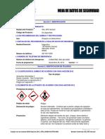 SKL-SP2 Aerosol Spanish SDS Rev 1.2 2015-11-11
