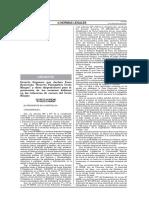 Decreto Supremo N° 008-2011-MINAM