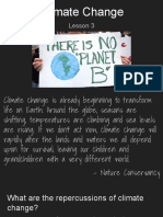 8th climate change - lessons 3