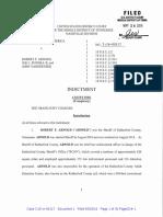 Sheriff Robert Arnold Indictment