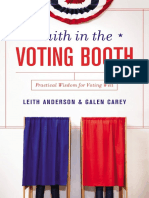 Faith in the Voting Booth Sample