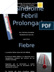 Síndrome Febril Prolongado