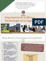 La Importancia de la Êtica, Moral, y la Deontologîa en la Ingenierîa