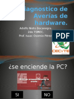 Diagrama de Averías de Hardware