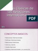 Teorías Clásicas de Las Relaciones Internacionales
