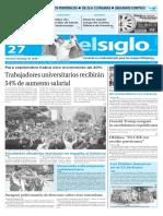 Edición Impresa El Siglo 27-05-2016
