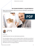 El Método de Eisenhower y La Productividad