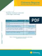 Tabla11.Requisitosrevisiounporladirecciounycoumolograrconformidad