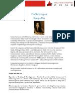 AZ Trainer Profile - Rumpa Das