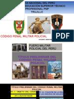 Codigo de justicia militar policial