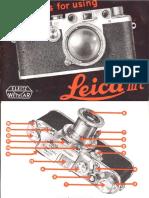 Leica IIIc Manual