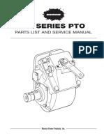 Muncie TG Series PTO Service Parts Manual