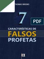 7 Características de Falsos Profetas - Thomas Brooks.epub