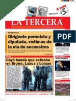 Diario La Tercera 27.05.2016