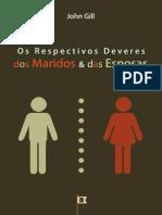 Os Respectivos Deveres dos Maridos e das Esposas, por John Gill.epub