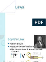 gas laws online