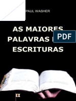 As Maiores Palavras das Escrituras - Paul David Washer.epub