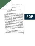 Baurer Lexicology