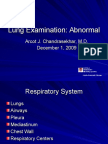 Lung Abnormal