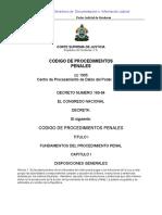 Código de Procedimientos Penales