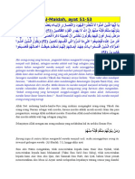 Tafsir Ibnu Katsir Surah Al maidah 1-50