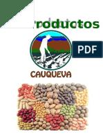 Descripción Productos Cauqueva 2015