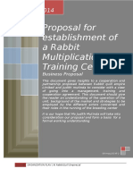 Proposal for establishment of a Rabbit Multiplication & Training Centre